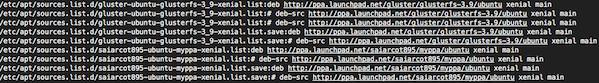 Ubuntu-list-all-ppas-command