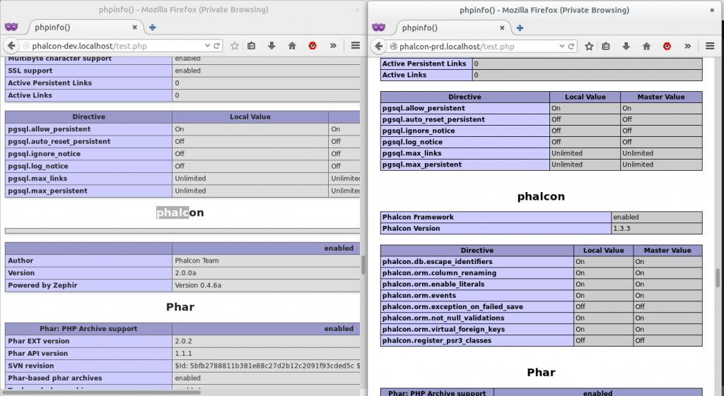 несколько php на одном сервере