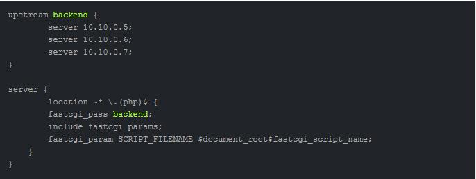 Автоматическое распределение запросов между серверами